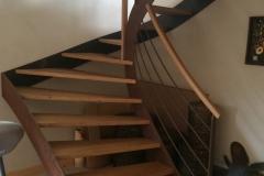 39 Escalier acier bois Bonneville
