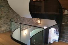 4 Rampe escalier contemporain en Haute-savoie