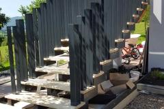 6 Rampe escalier moderne en Haute-savoie