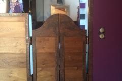 4 Porte sur mesure western en acier Haute-savoie