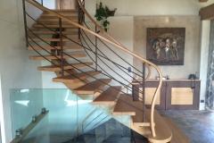 10 Escalier bois acier Bonneville