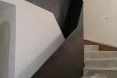 12 Rampe escalier metal Sallanches